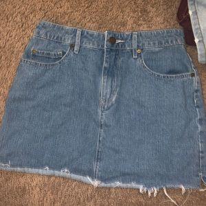 Roxy Jean skirt